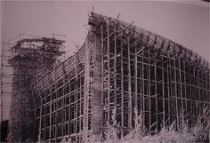 **************************************in progress. Le Corbusier, Sacred Architecture, Urban Architecture, Bauhaus, Mondrian, Black And White Building, Alsace Lorraine, Building Drawing, Pierre Jeanneret