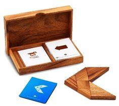 Wooden Tangram Set by Monkey Pod Games #Kids #Toys #Puzzle #Tangram