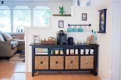 Dwell Beautiful shows you all the details behind her beloved tea and coffee bar so you can be inspired and get the scoop on how to re-create your own space!