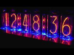 IN-18 Blue Dream Nixie Clock Demo #2 Nixie Tube, Blue Dream, 18th, Clock, Neon Signs, Watch, Clocks