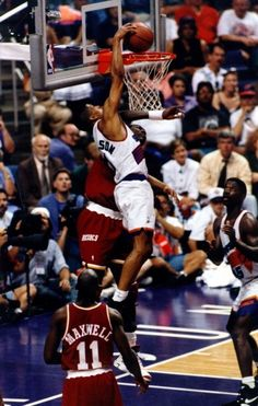 Kevin Johnson Phoenix Suns best dunk ever!!