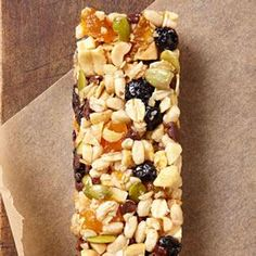 Homemade Energy Bars: Energy Foods to Fuel Your Fitness Routine