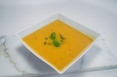 Butternut squash suppe