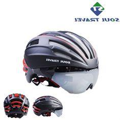 31.95$  Buy here - https://alitems.com/g/1e8d114494b01f4c715516525dc3e8/?i=5&ulp=https%3A%2F%2Fwww.aliexpress.com%2Fitem%2FSoul-travel-mountain-bike-road-bike-one-piece-belt-goggles-lens-pneumatic-ride-helmet-safety-cap%2F32730270807.html - Soul Travel Eps Road Bicycle Goggles Helmet Men Bike Cycling Safe Cap Lens Helmets Cascos Ciclismo Accessories Capacete Kask Hot 31.95$
