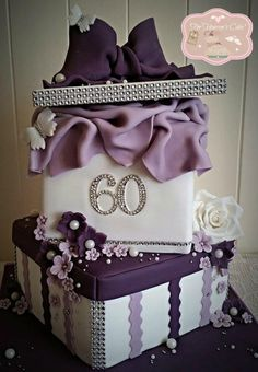 60 years Young - Cake by Bobbie-Anne Wright