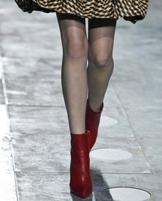 Loving these red ankle boots from Mary Katrantzou.
