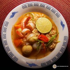#1492: Wai Wai Quick Tom Yum Shrimp - The Ramen Rater