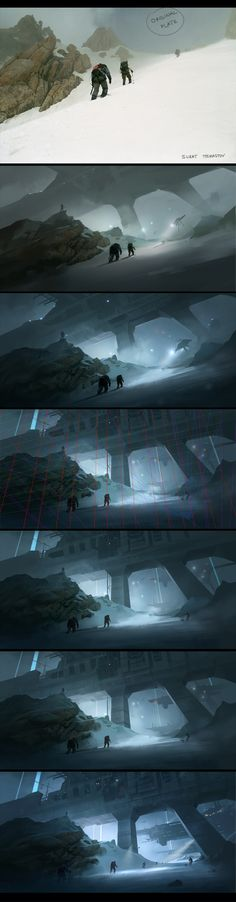 Making of #art #concept #scifi #future #digital #design #inspiration