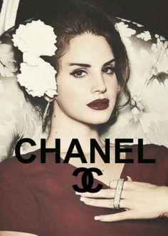 Lana for Chanel #class #lanadelrey