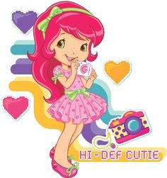 Note:  I don't know who 'Def Cutie' is, but I just like this picture of Strawberry Shortcake.