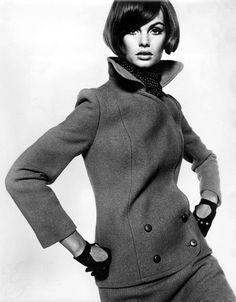 Jean Shrimpton fotografiada por David Bailey