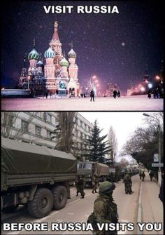 Visit Russia before Russia visits you! #Soviet #cccp so true... :|
