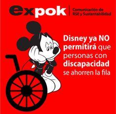 Disney ya no permitirá que personas con discapacidad se ahorren la fila http://www.expoknews.com/2013/09/26/disney-ya-no-permitira-que-personas-con-discapacidad-se-ahorren-la-fila/