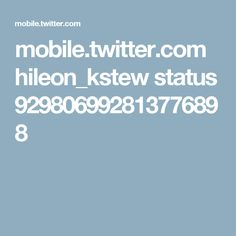 mobile.twitter.com hileon_kstew status 929806992813776898