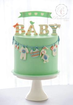36 Super-Cute Baby Shower Cakes, Cupcakes and Cake Pops 36 Super-Süße Babyparty-Kuchen-Ideen Baby H (Visited 3 times, 1 visits today) Torta Baby Shower, Baby Shower Pasta, Baby Shower Cakes Neutral, Baby Boy Cakes, Baby Birthday Cakes, Cakes For Boys, Girl Cakes, Babyshower Cake Boy, Beautiful Cakes