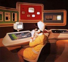ideas science fiction design retro futurism for 2019 Retro Futurismus Dashboard Design, Retro Logos, Alter Computer, Pc Photo, Science Fiction Kunst, Retro Vintage, Vintage Space, Retro Pop, Vintage Modern