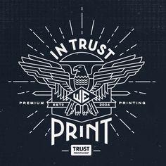 Trust Printshop Mural by Pavlov Visuals