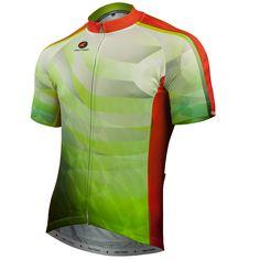 Peridot Cycling Jersey by Arlene Pedersen Men's | Artist-Inspired Cycling Apparel | Pactimo