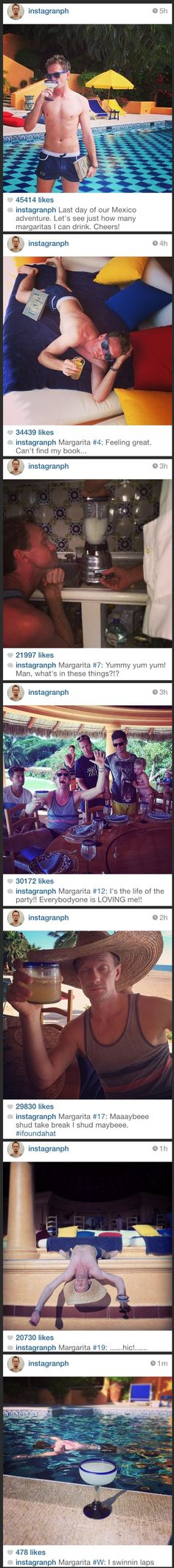 NPH documents his last day of vacation in Mexico....reminds me of my trip to Puerto Rico w Lydia and Russ :)