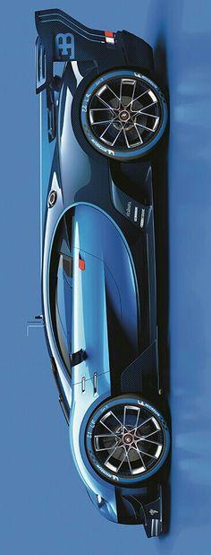 2015 Bugatti Vision Gran Turismo Concept by Levon