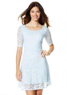 Delia's rosie lace skater dress