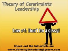 Theory of Constraints Leadership