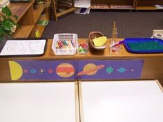 The Solar System, Montessori Style