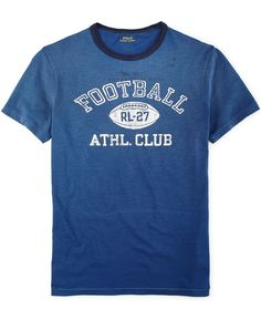 Polo Ralph Lauren Football Graphic T-Shirt
