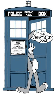Eh, what's up Doc?  #DoctorWho