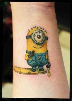 13 Ideas De Tatto The Minions Disenos De Unas Minions Tatuaje Minion
