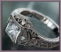 Victorian. This is a very beautiful ring