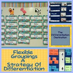 The Differentiation Destination: Flexing your differentiating muscles!  Great ideas!