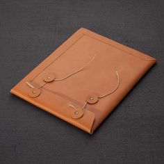 Antiatoms Leather ipad Envelope