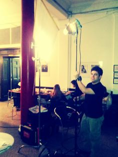 Student working the lights for a workshop exercise. New York Film Academy, Visual And Performing Arts, Student Work, All Over The World, Filmmaking, Acting, Workshop, Exercise, Lights
