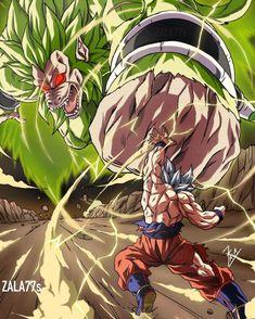 Ozaru Broly Vs Goku MUI
