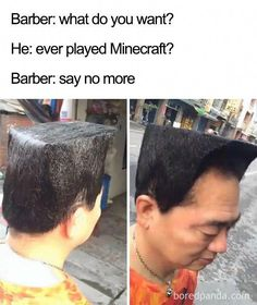 Terrible Haircuts That Were So Bad They Became Say No More Memes Epic Fail Pictures, Funny Pictures, Hilarious Photos, Barber Say No More, Say No More Meme, Barber Memes, Funny Shit, Terrible Haircuts, Top Haircuts For Men