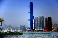 highest hotel in the world, Ritz-Carlton hong kong, Ritz-Carlton hong kong images, Ritz-Carlton hotel hong kong, Ritz-Carlton victoria hong kong, slider - http://architectism.com/world%e2%80%99s-highest-hotel-ritz-carlton-in-hong-kong/