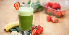 How to make a basic green smoothie for exercise recovery