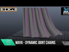 Maya Tutorial – Creating Dynamic Hair Driven Joint Chains – CG VILLA CG VILLA