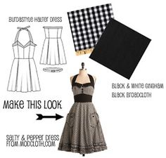 A ton of DIY dresses. (For more happy healthy humorous & creative hoopspiration please check out: www.HipTheHoopla.com & www.facebook.com/HipTheHoopla ~ thanks! :) Also www.ToucheToon.com (cartoon humor) & www.DatingAndHandGrenades.com (relationship humor :-)