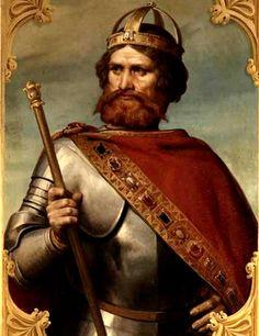 Frédéric Barberousse (1122-1190) est un prince de la dynastie des Hohenstaufen, duc de Souabe de 1147 à 1152 sous le nom de Frédéric III. Il a été élu roi des Romains en 1152 et couronné empereur germanique en 1155. Il a gagné son surnom du fait de son éblouissante barbe rousse.