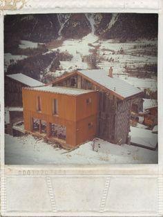 Winter House #DIY #REN #Chamoille #Industrial #Industriel #Indus #Deco #Décoration #Rebord #Nicolas #Architecture #Corten #House #Maison #Winter