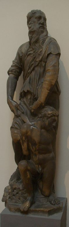 59. Sacrificio de Isaac. Donatello. 1421. Museo dell'Opera del Duomo, Florencia.
