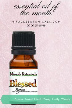 """ESSENTIAL OIL OF THE MONTH: """"Hope and her mom were getting so many compliments when they wore Blessed that we decided to make it an official product so that more people can enjoy it's artistic expression and be blessed!"""" Read the full story on how Blessed Perfume came to be on our website. #lightworker #anoiting #namaste #botanicals #therapeutic #familybusiness #blessings #greenliving #earthfriendly #organicliving #sustainable #ecofriendly #chemicalfree #nontoxic #beauty"""