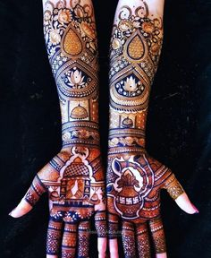 Arabic Bridal Mehndi Designs, Wedding Henna Designs, Engagement Mehndi Designs, Full Hand Mehndi Designs, Henna Art Designs, Mehndi Designs 2018, Dulhan Mehndi Designs, Mehndi Designs For Girls, Mehendi