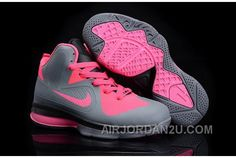 http://www.airjordan2u.com/nike-lebron-9-kids-shoes-grey-pink-discount-sjmwd.html NIKE LEBRON 9 KIDS SHOES GREY/PINK AUTHENTIC 6DQE4 Only $74.00 , Free Shipping!