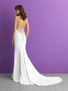 Designer: Allure Romance. Style: 3013. Available at Bliss Bridal in Wisconsin. www.blissbridalonline.com