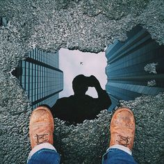How I Created This Viral Puddle Reflection Picture in Photoshop My name is Micha.,How I Created This Viral Puddle Reflection Picture in Photoshop My name is Michael Pistono, and I'm a photo enthusiast living in Honolulu,. Reflection Photography, Street Photography, Portrait Photography, Digital Photography, Photography Lighting, Photography Business, Photography Classes, Wedding Photography, Photography Composition