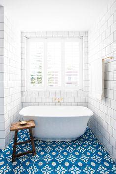 The Amiata bath at Halcyon House