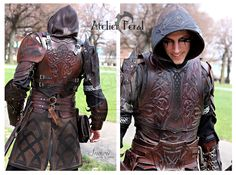 Kraken Leather Armor Cosplay